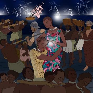mamakeba ilustracion 02 de noche en tiniebla